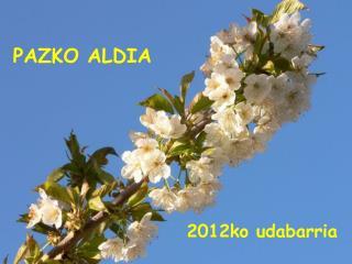 PAZKO ALDIA