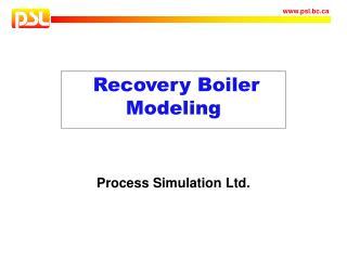 Recovery Boiler Modeling