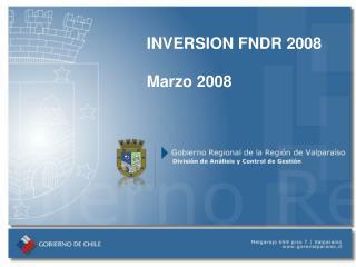 INVERSION FNDR 2008 Marzo 2008