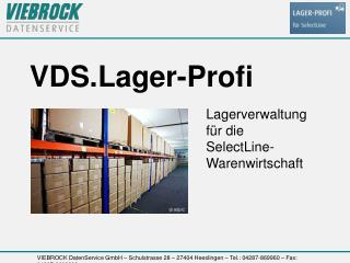 VDS.Lager-Profi