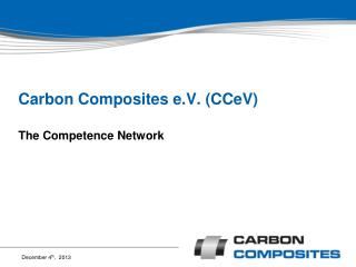 Carbon Composites e.V. (CCeV)