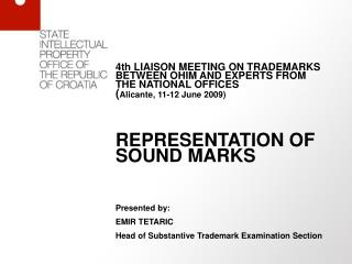 4th LIAISON MEETING ON TRADEMARKS BETWEEN OHIM AND EXPERTS FROM THE NATIONAL OFFICES