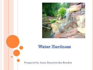 Water Hardness