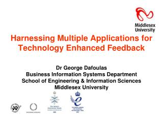 Harnessing Multiple Applications for Technology Enhanced Feedback