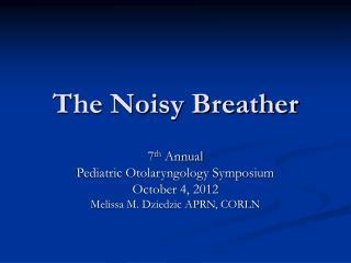 The Noisy Breather