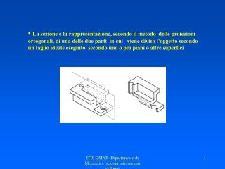 Utilizzando le sezioni, i corpi cavi o le cavità in corpi massicci