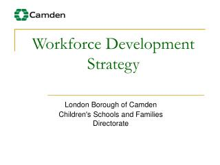 Workforce Development Strategy
