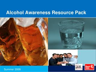 Alcohol Awareness Resource Pack