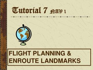Tutorial 7  NAV 1
