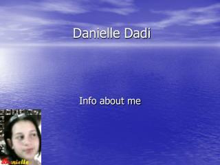 Danielle Dadi