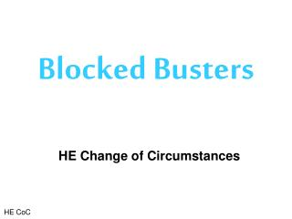 Blocked Busters