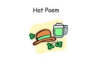 Hat Poem