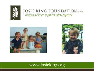 Www.josieking.org
