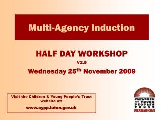Multi-Agency Induction