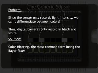 The Generic Sensor