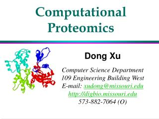 Computational Proteomics