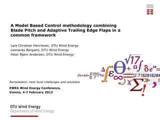 Lars Christian Henriksen, DTU Wind Energy Leonardo Bergami, DTU Wind Energy