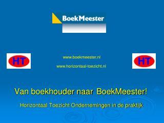 Van boekhouder naar BoekMeester !