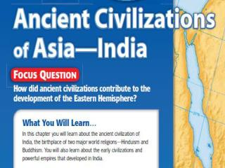 Section 1 (Early Indian Civilizations)