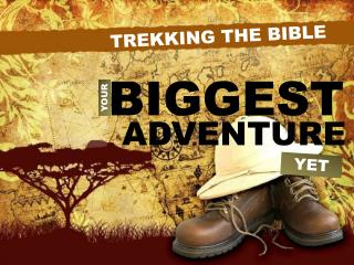 TREKKING THE BIBLE