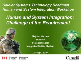 Human and System Integration: Challenge of the Requirement