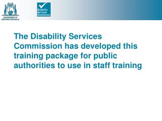 Disability Access and Inclusion Plans