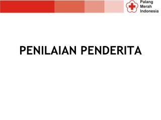 PENILAIAN PENDERITA