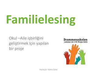 Familielesing