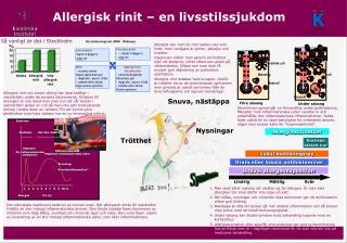 Allergisk rinit � en livsstilssjukdom