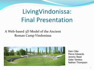 LivingVindonissa: Final Presentation