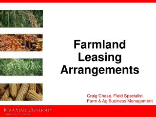 Farmland Leasing Arrangements