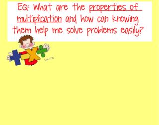 Zero Property of Multiplication