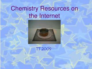 Chemistry Resources on the Internet
