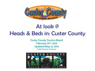 At look @ Heads & Beds in: Custer County
