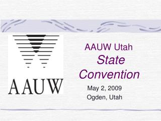 AAUW Utah  State Convention