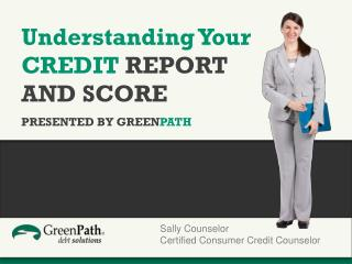 Understanding Your CREDIT  REPORT  AND  SCORE