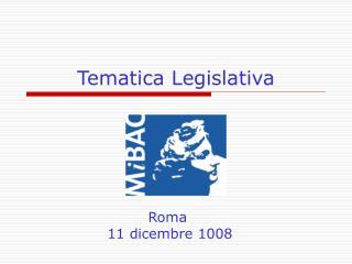Tematica Legislativa