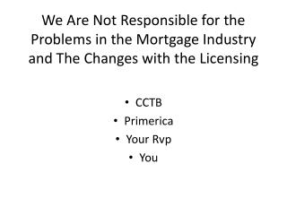 CCTB Primerica Your Rvp You