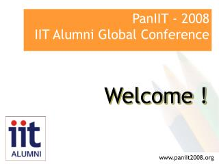 PanIIT - 2008  IIT Alumni Global Conference