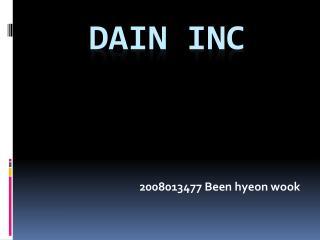 DAIN INC
