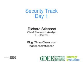Security Track Day 1