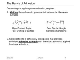 The Basics of Adhesion
