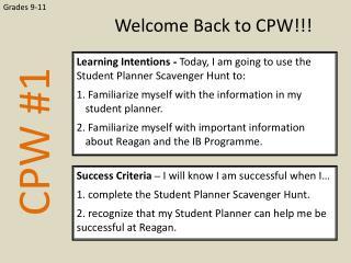 CPW  #1