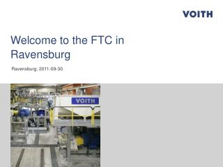 Welcome to the FTC in Ravensburg