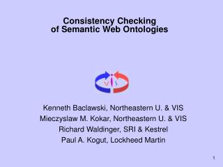 Consistency Checking  of Semantic Web Ontologies