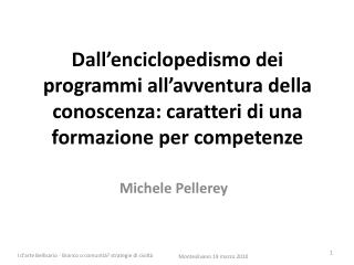 Michele Pellerey