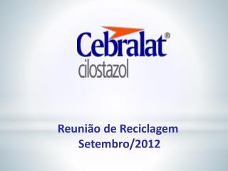 Reunião de Reciclagem  Setembro/2012