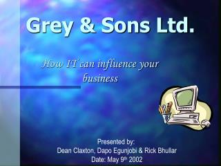 Grey & Sons Ltd.