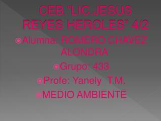 "CEB.""LIC.JESUS REYES HEROLES"" 4/2"