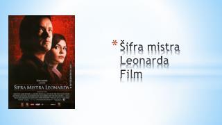 Šifra mistra Leonarda Film